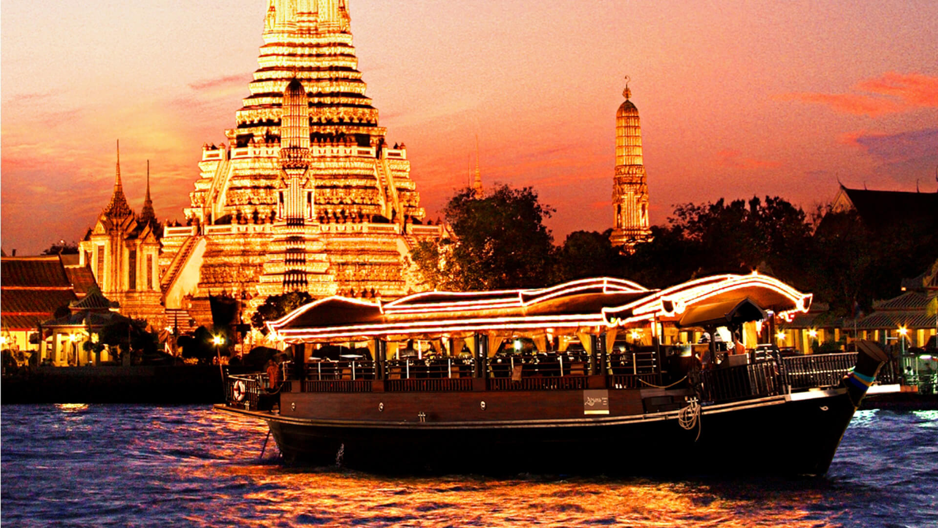 ASPARA (RIVER CRUISE DINNING ON CHAO PHRAYA RIVER)