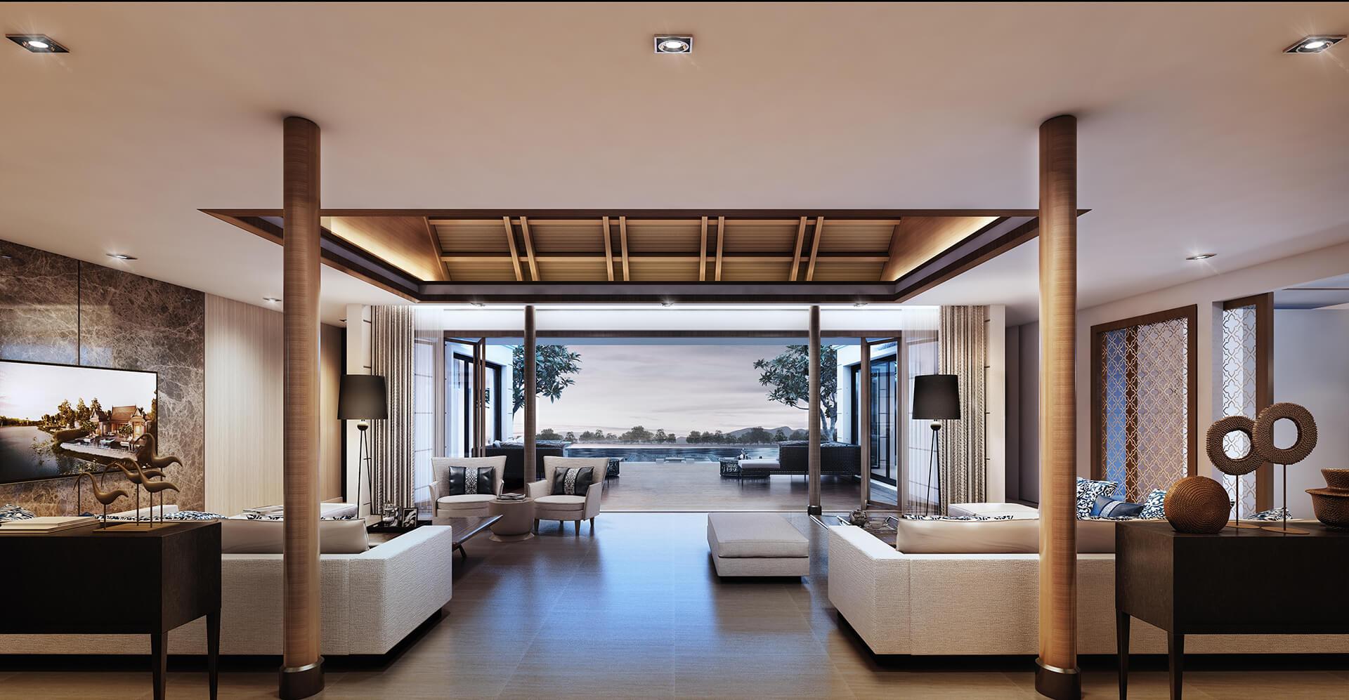 GRAND RESIDENCES (LIVING ROOM)