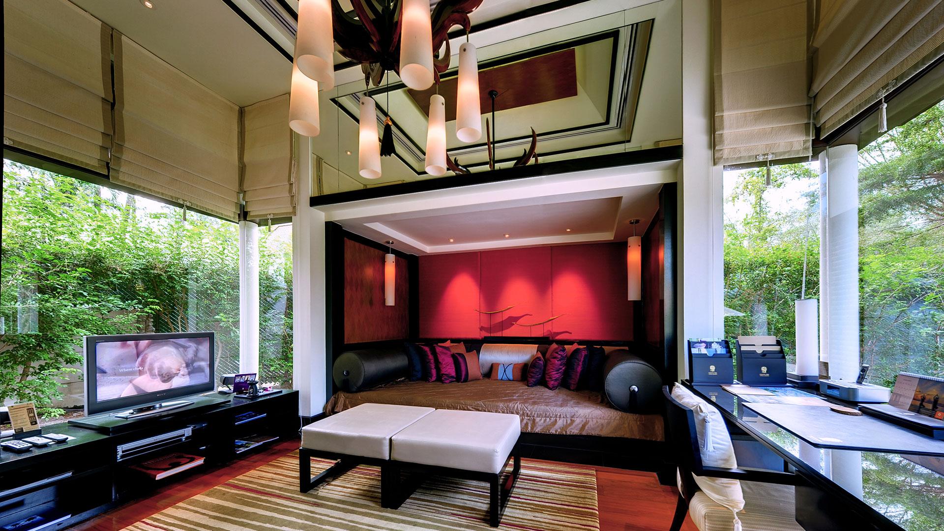 One-Bedroom DoublePool Villas (STUDY ROOM)