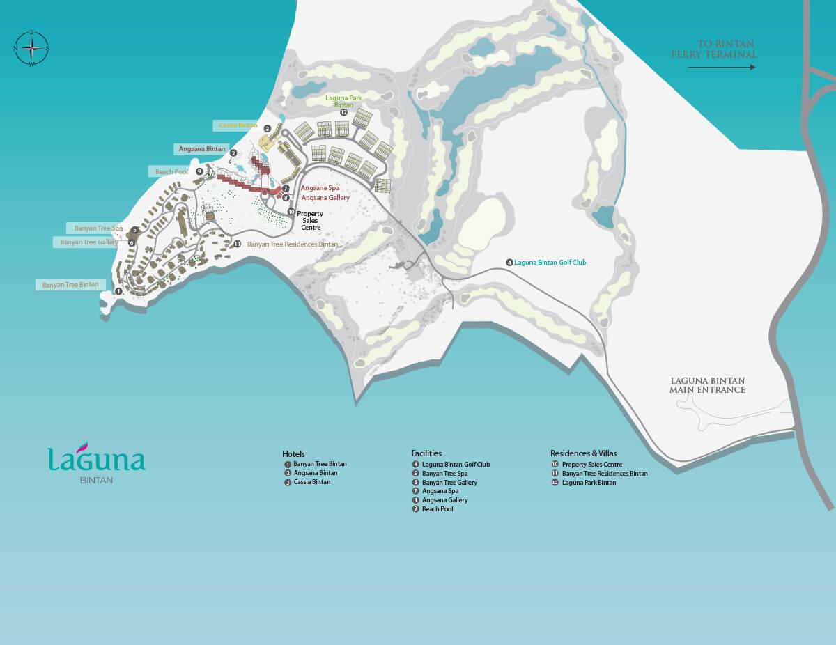 bangkok resortmap