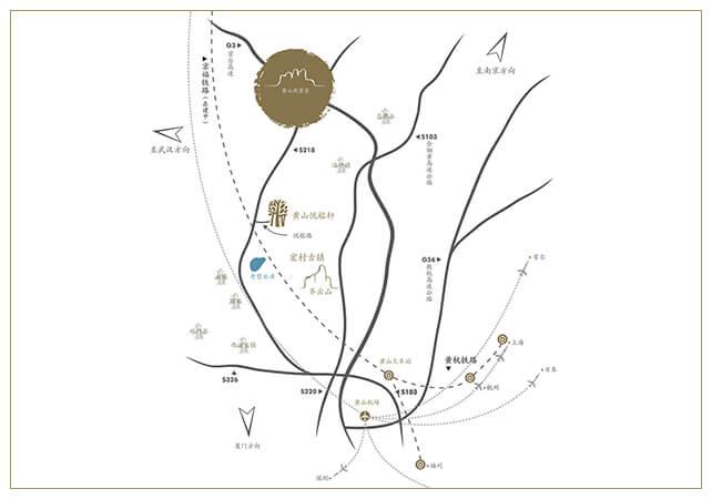 huangshan-villa-map